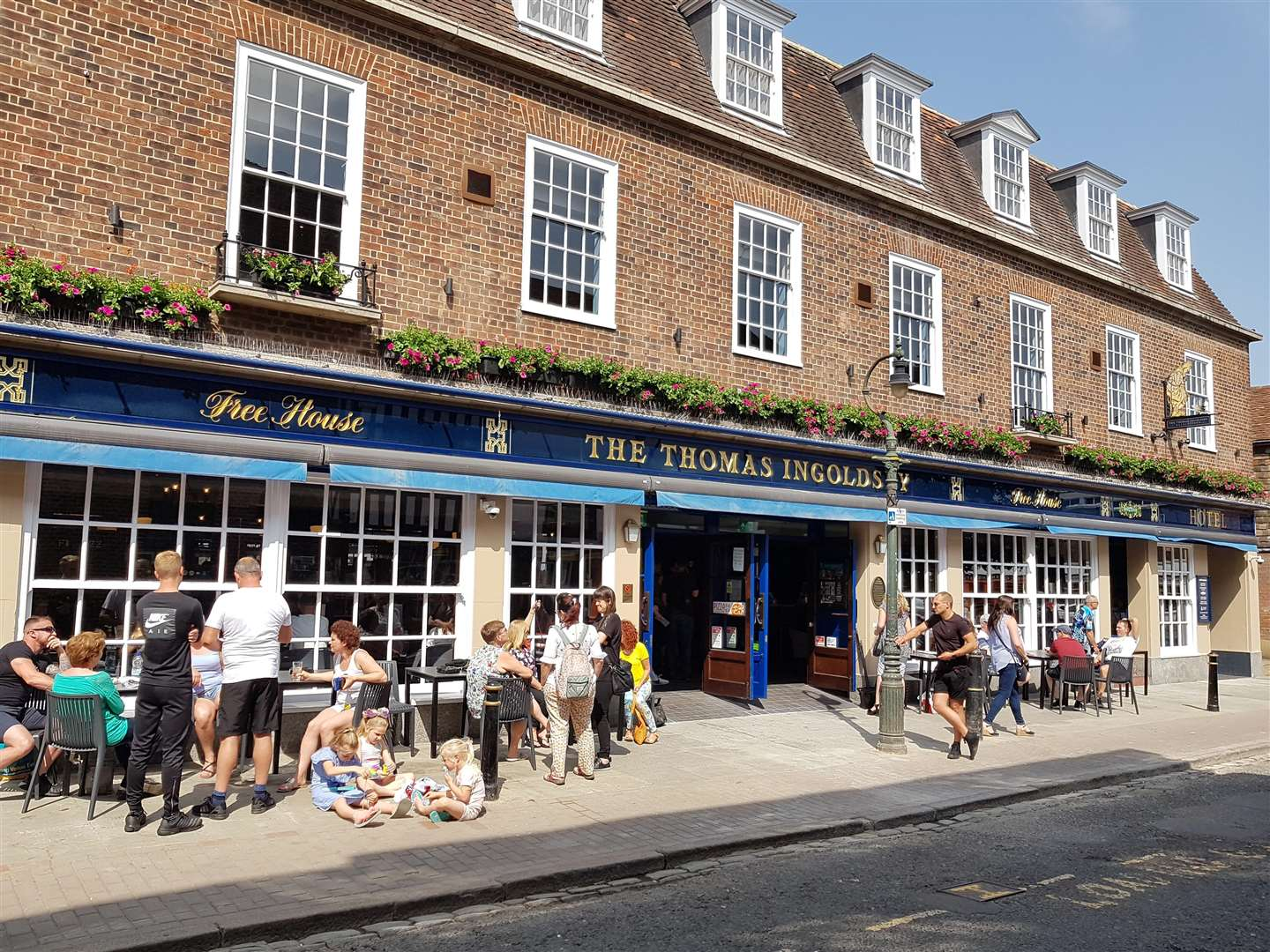 The Thomas Ingoldsby Wetherspoon pub in Canterbury, which recently added a number of hotel rooms