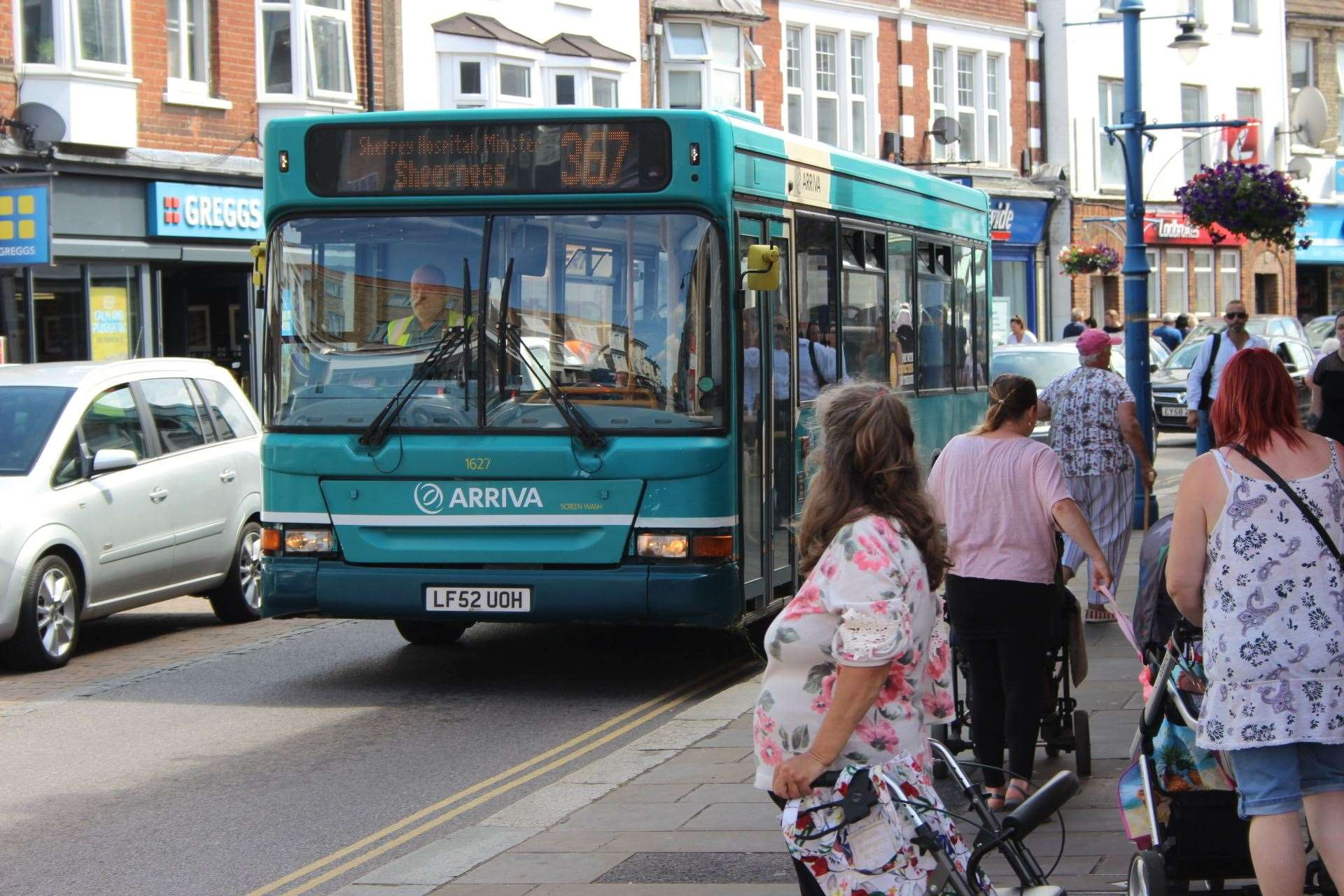 Bus timetable problems on Sheppey for Caroline Lind (15120218)