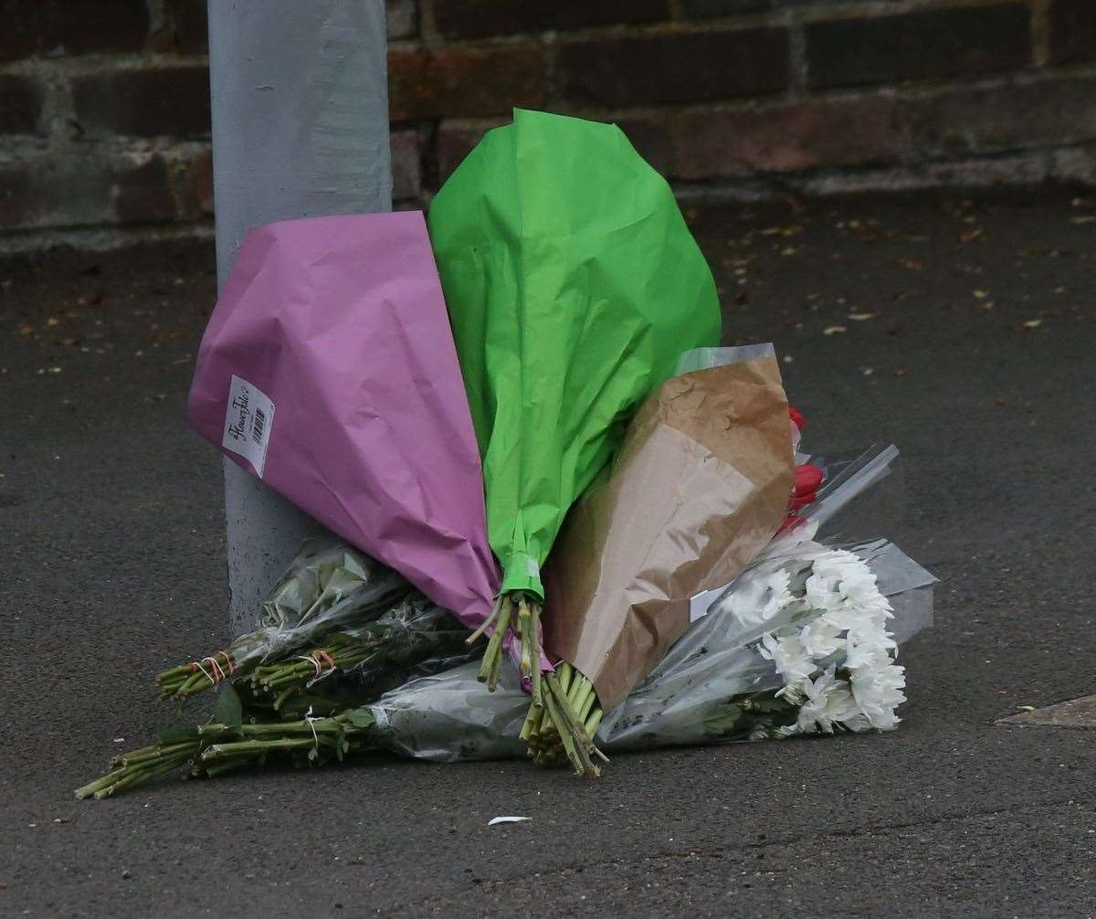 The scene following Kyle's death on Friday. Picture: UK News in Pictures