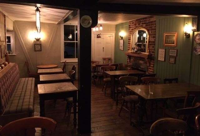 If you turn left through the front door you'll find yourself in a sectioned off dining area – quieter on a Tuesday evening, but rammed on a Sunday lunchtime