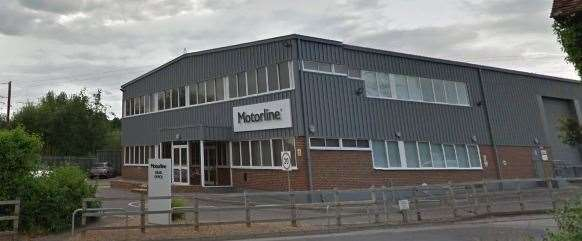Driveline is part of the Motorline Group car dealership. Credit: Google street view