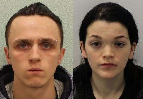 Stephen Waterson, left, and Adrian Hoare, right, have both been jailed. Picture: Met Police
