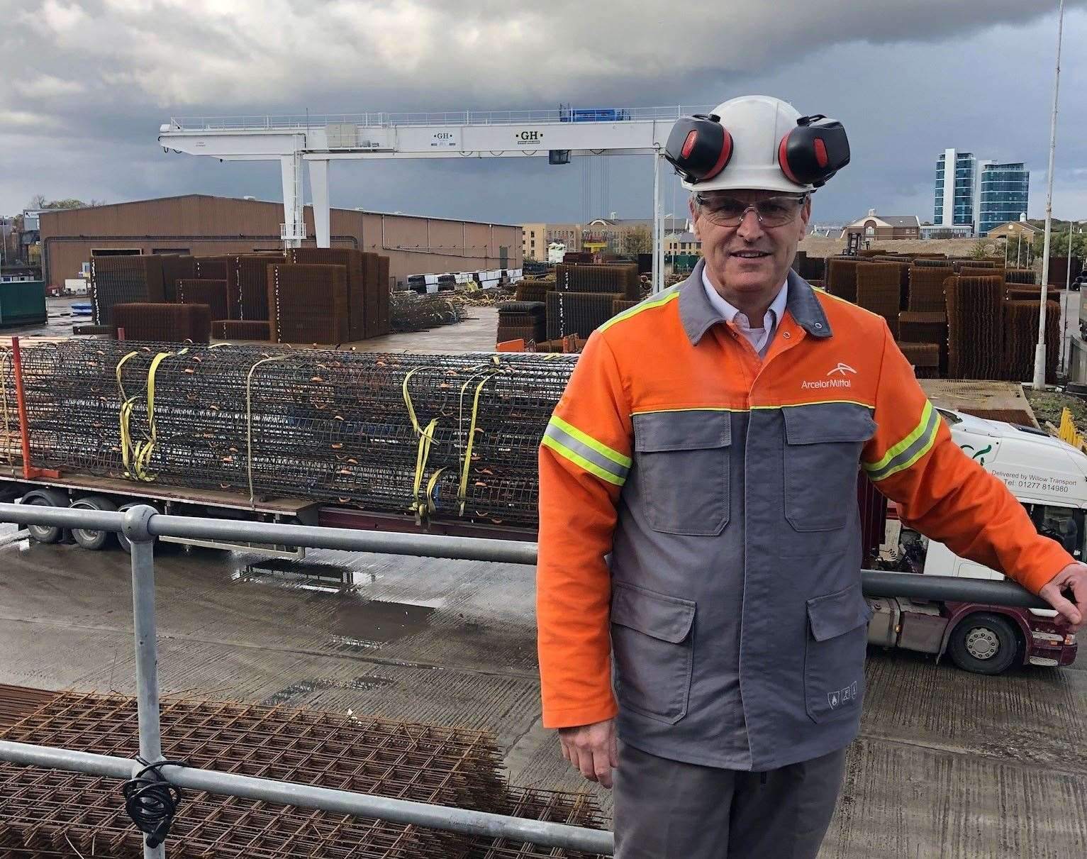 ArcelorMittal Kent Wire chief executive Phil Taylor, who is head of the Association of Chatham Docks Commercial Operators
