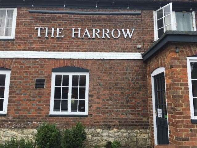 I was delighted to be able to get back to The Harrow, now it has reopened following lockdown