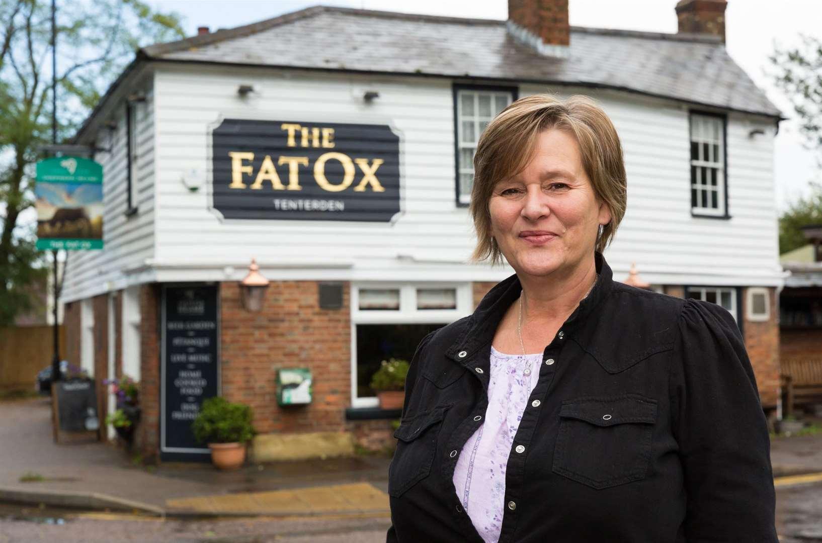 Carole Lofthouse is the owner of Fat Ox in St Michael's, Tenterden.  Photo: shepherd Neame