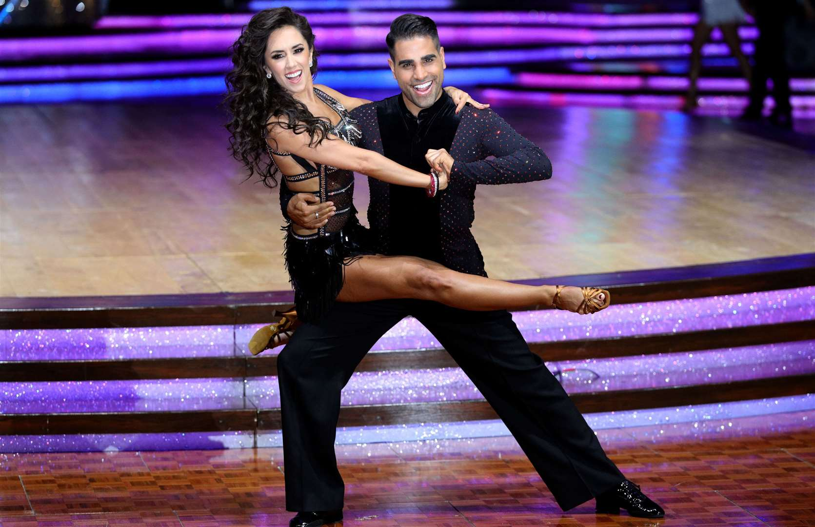 Dr Ranj Singh and Janette Manrara on the Strictly Come Dancing Tour Picture:Aaron Chown
