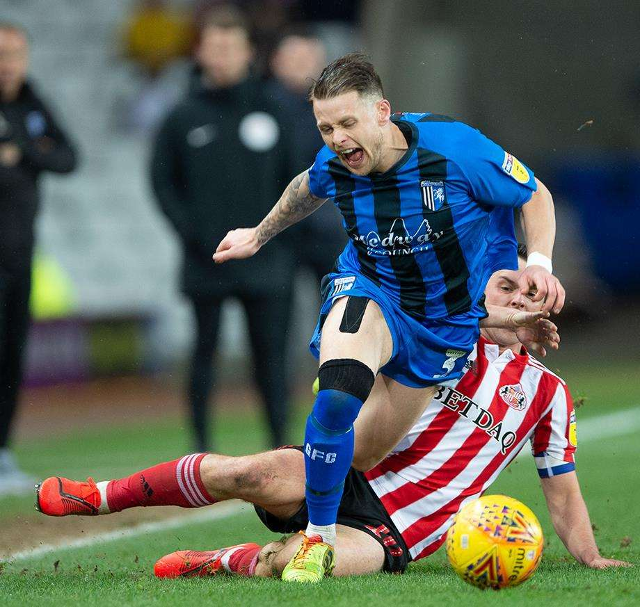 Sunderland vs Gillingham action Picture: Ady Kerry (7299444)