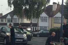 Boy injured after car crash in Valley Drive, Gravesend