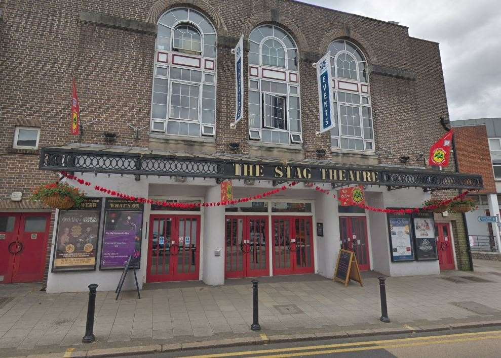 The Stag Theatre in London Road, Sevenoaks