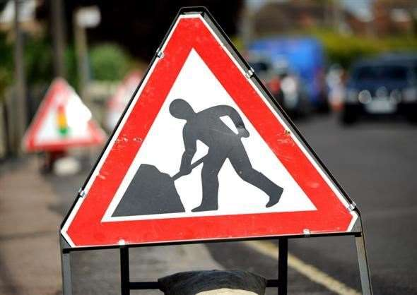 "Roadworks have been causing ""chaos"" across the town"