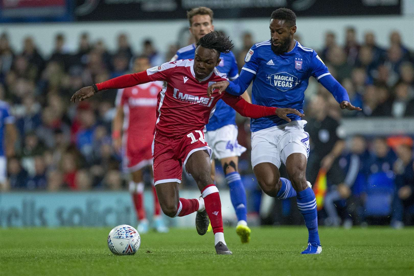 Gillingham were in action at Ipswich in the EFL Trophy on Tuesday but a weakened side lost heavily Picture: @KentProImages
