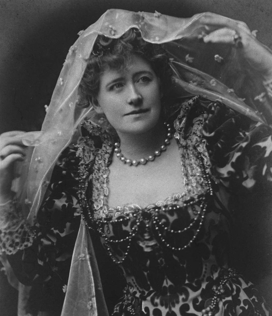 A megastar in her day. Ellen Terry pictured as Beatrice in one of her costumes for Much Ado About Nothing. Picture: National Trust