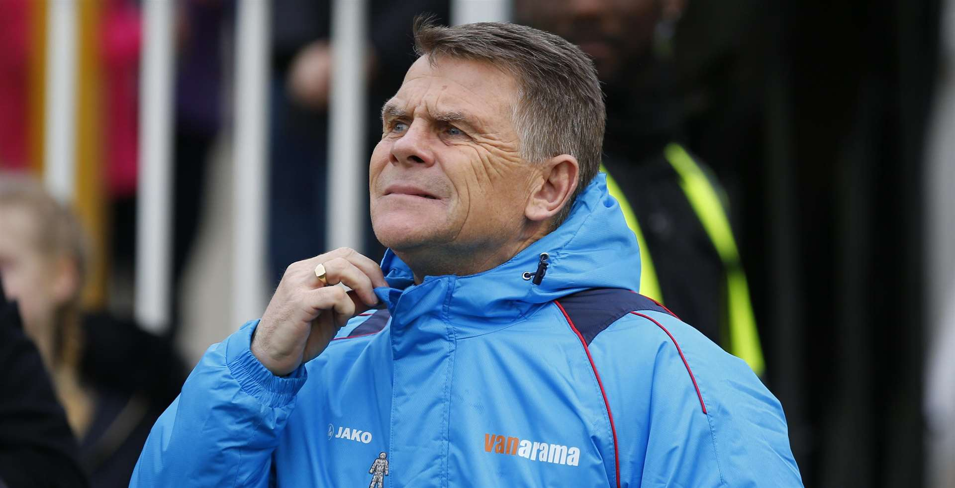 Dover Athletic manager Andy Hessenthaler Picture: Andy Jones