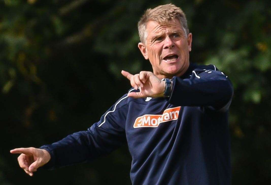 Andy Hessenthaler said he was embarrassed by Dover's display at Boreham Wood Picture: Alan Langley