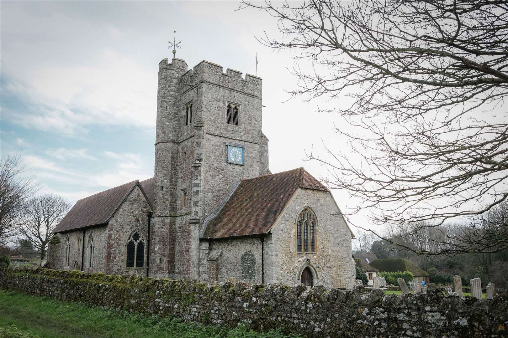 St Mary's and All Saints Church, Boxley, was targeted by thieves