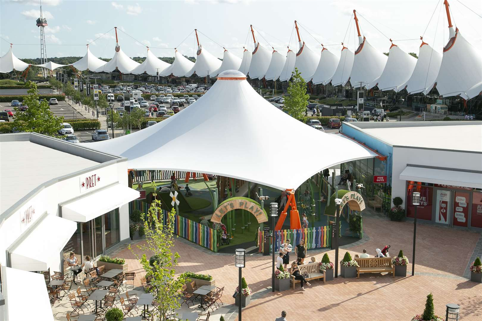 The Ashford Designer Outlet as it looks now