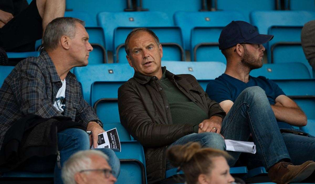 Former manager Steve Lovell in the crowd on Tuesday Picture: Ady Kerry (15216268)