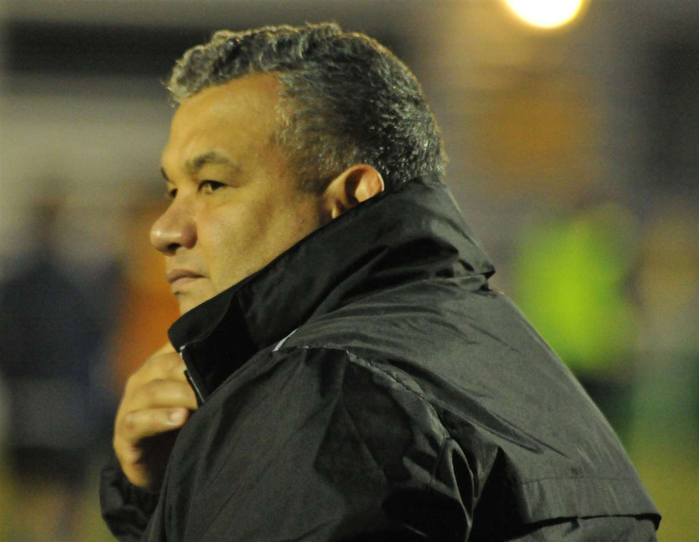 Maidstone United manager Hakan Hayrettin Picture: Steve Terrell