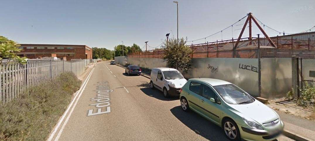 The burglary took place in Eddinton Business Park, Herne Bay. Picture: Google Streetview.(20589178)