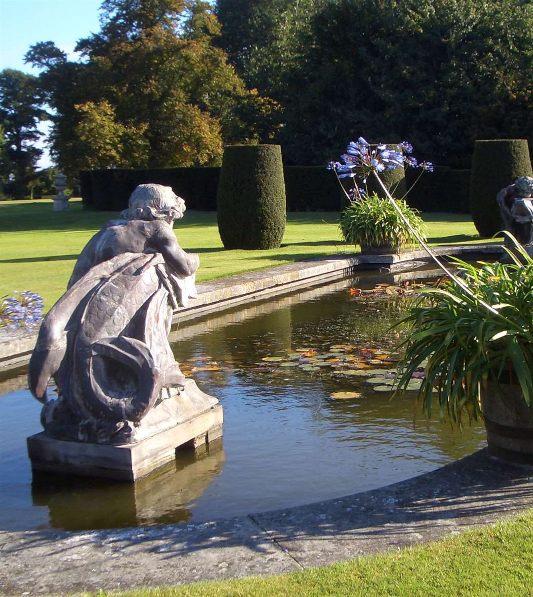 Hole Park Gardens, Rolvenden begins its Autumn Sundays opening this weekend
