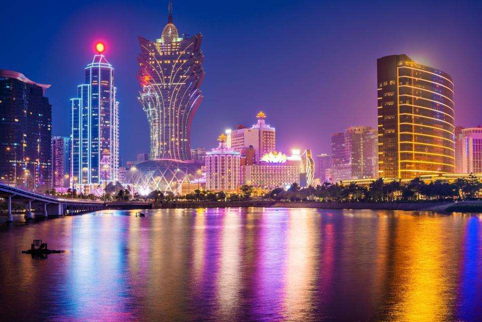 The eye-catching neon lights of Macao (3067991)
