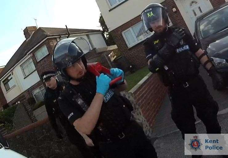 A series of raids were carried out across the county (12730734)