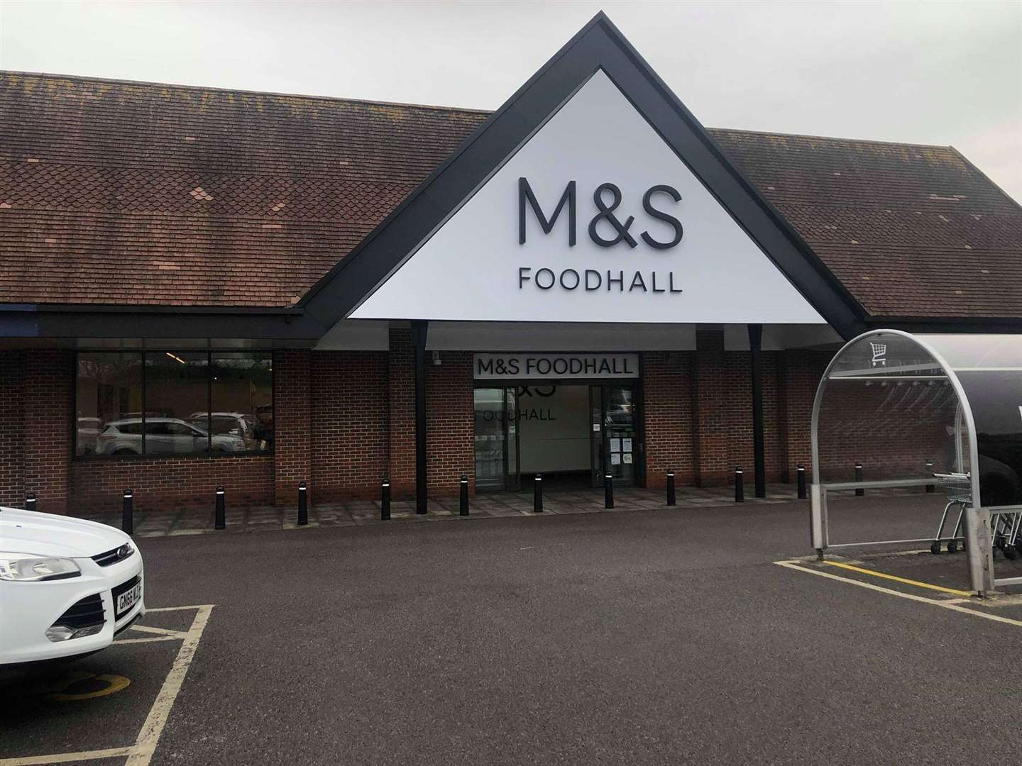 The M&S Foodhall in Ashford (6346793)