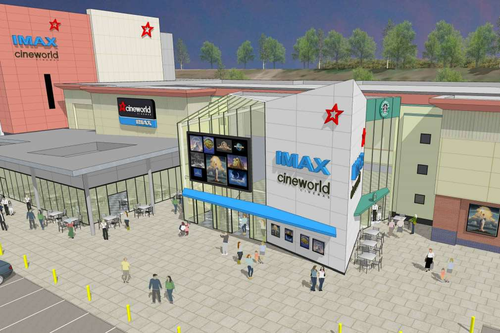 Plans for the expansion of Cineworld have been submitted