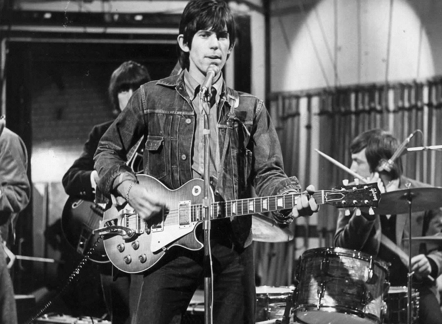 Keith Richards was a regular visitor to the Vox factory