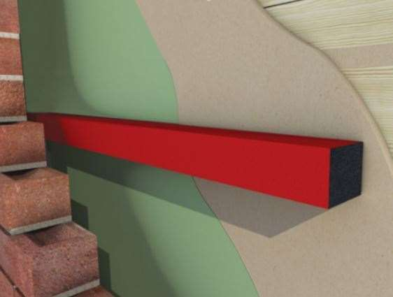Cavity barriers are designed to seal against fire and smoke