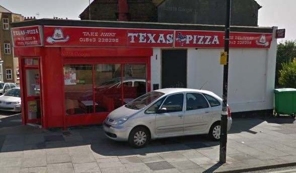 Texas Pizza in Margate