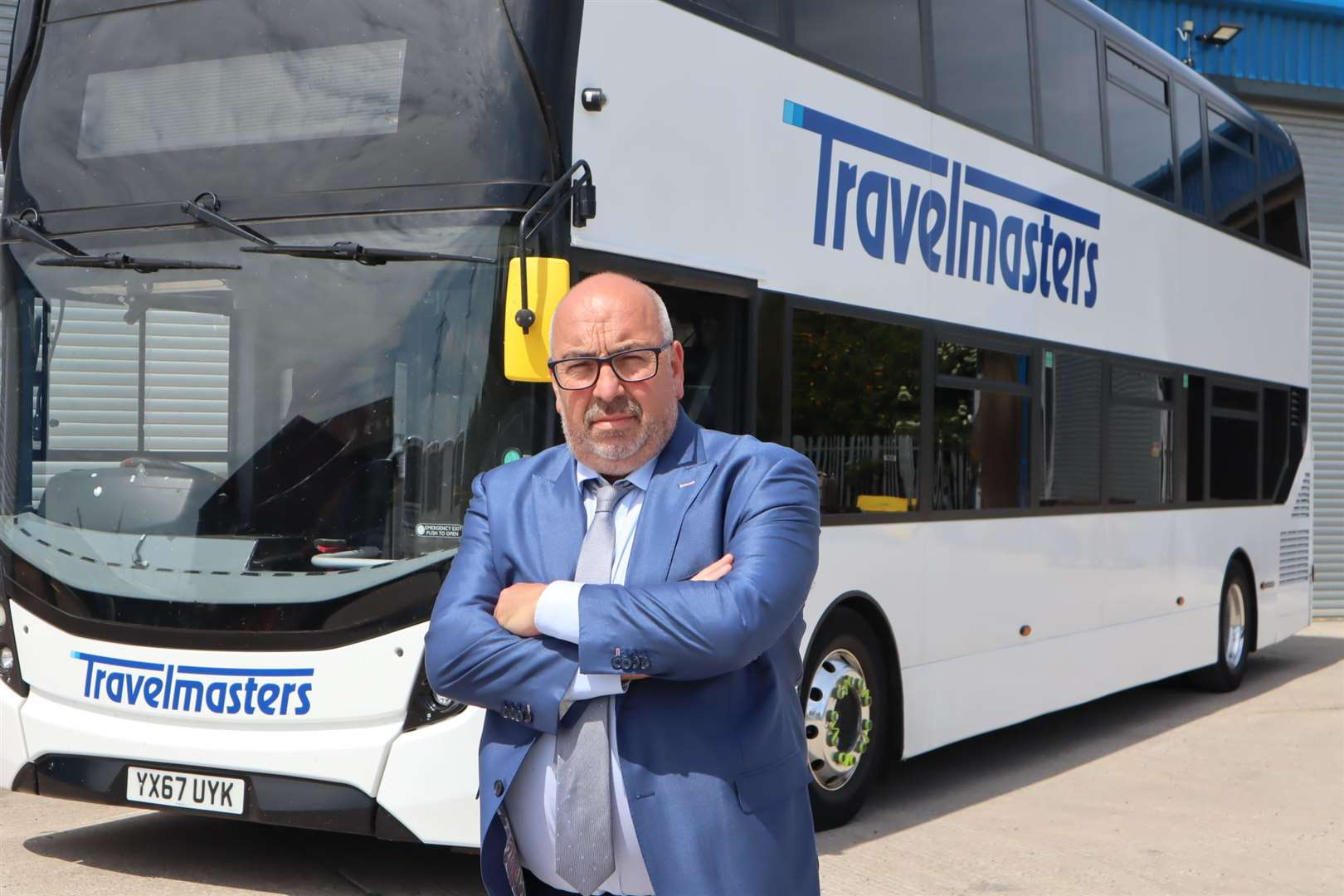 Tim Lambkin, managing director of Sheppey bus firm TravelMasters
