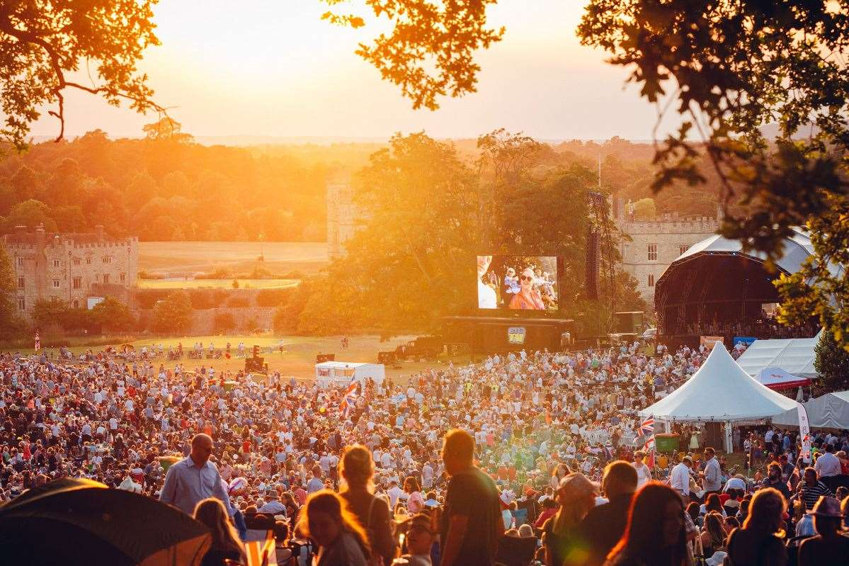 The Leeds Castle Concert attracts thousands each summer