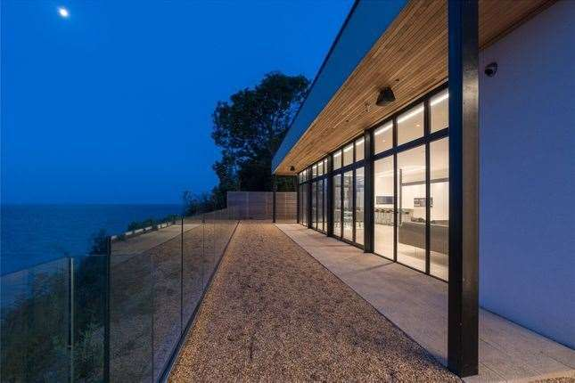 The house has 180 degree views of the Channel. Picture: Zoopla / Strutt & Parker