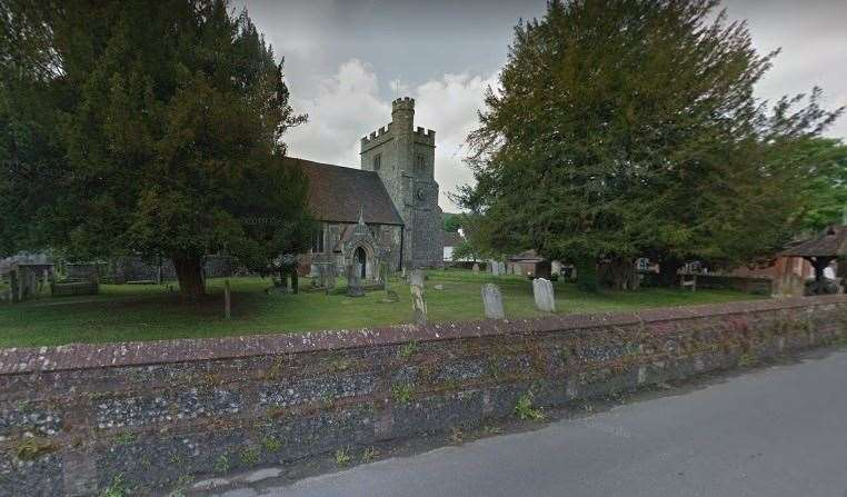 For 30 years, Rev Benjamin Winston - or Benjamin Sandford as he was then known - was vicar in Farningham. The church of St Peter and St Paul in the village as it looks today Picture: Google