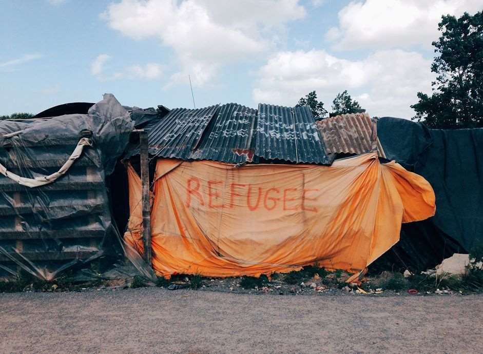 The Jungle migrant camp in Calais before its closure. Picture: Jaz O'Hara.