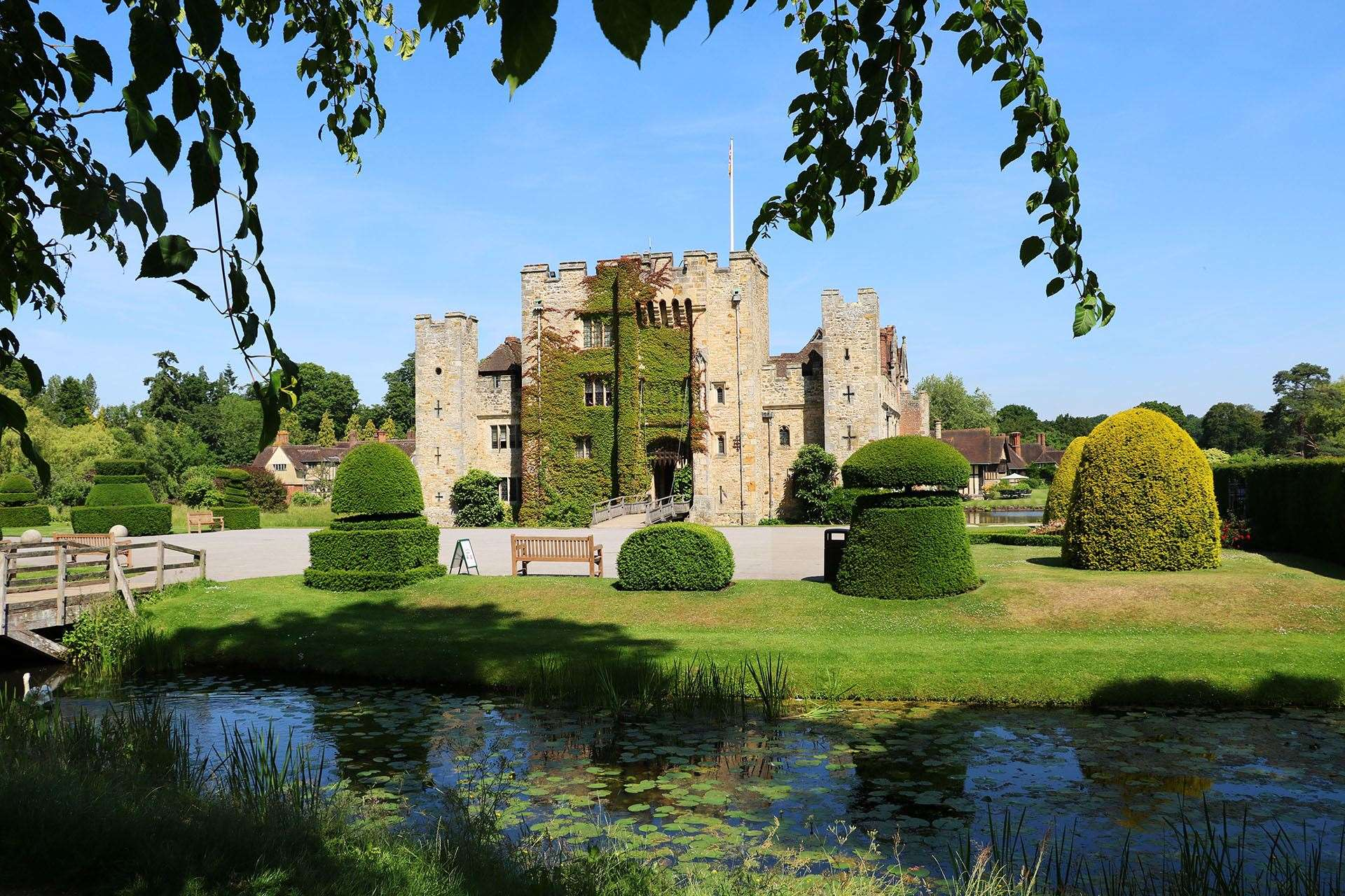 Hever Castle gardens will be the venue