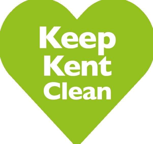 Maidstone Borough Council have produced this logo to help people in the county keep it clean