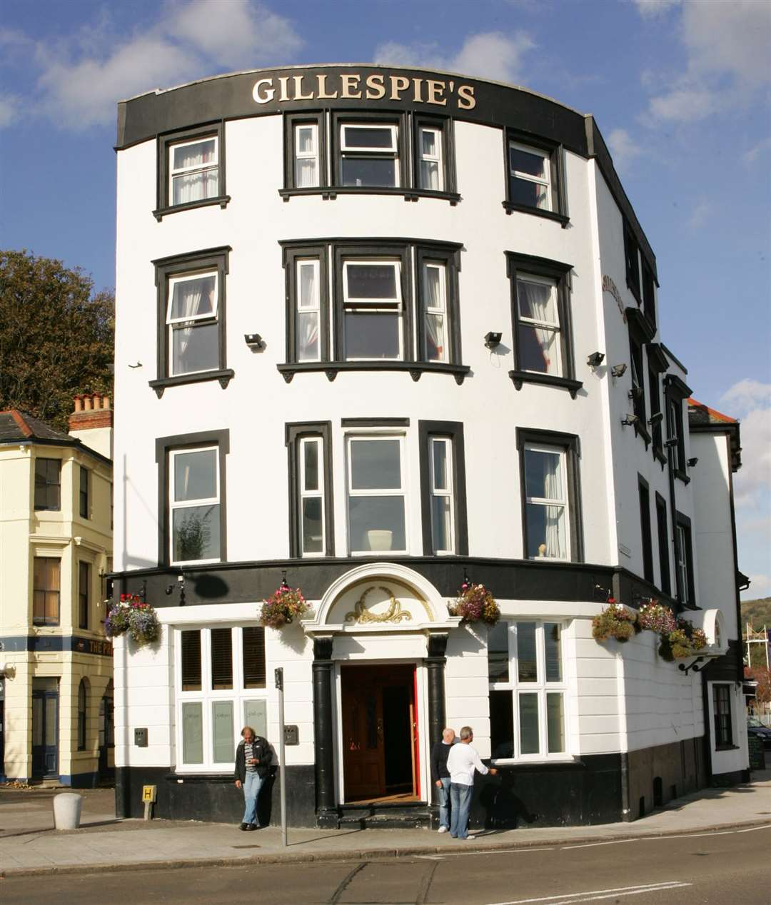 The attack took place at Gillespies bar in Harbour Street, Folkestone