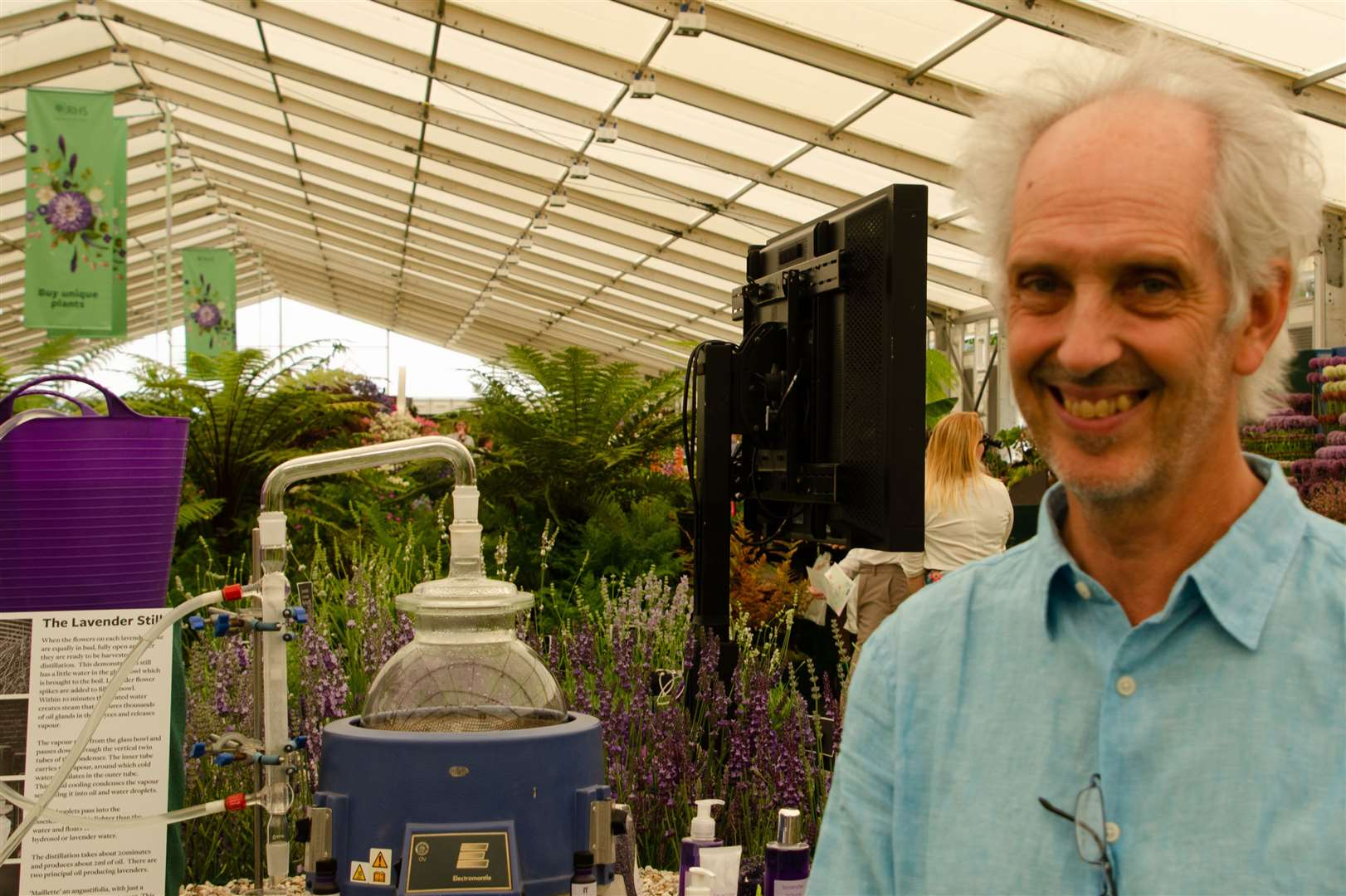 Dr Simon Charlesworth of Downderry Nursery in Hadlow, near TonbridgePicture: Ian West