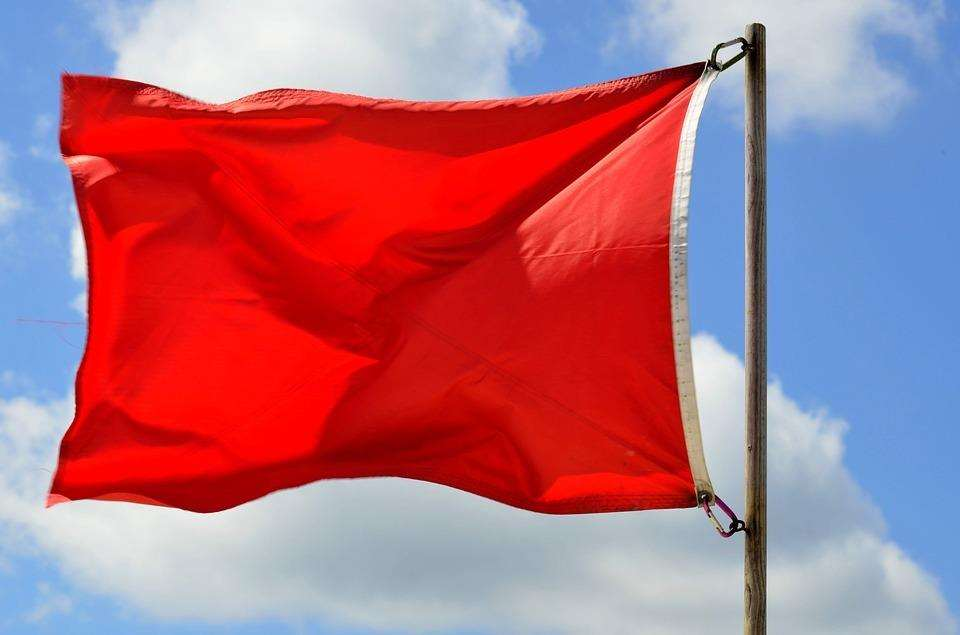 A red flag warning has been issued for Sunny Sands beach in Folkestone. Picture: Creative commons