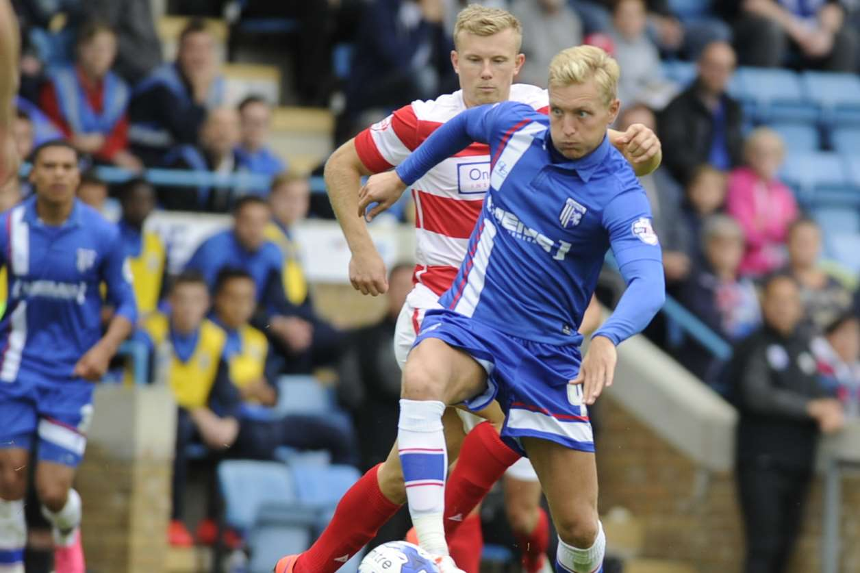 Josh Wright has extended Gills stay Picture: Barry Goodwin