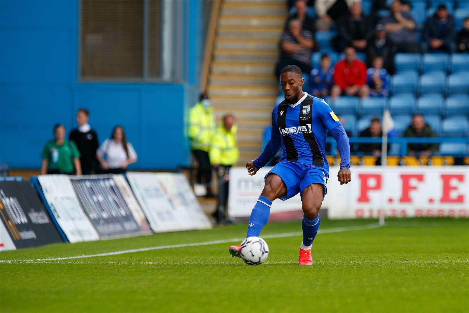 Gillingham defender Ryan Jackson could be back soon Photo: Andy Jones
