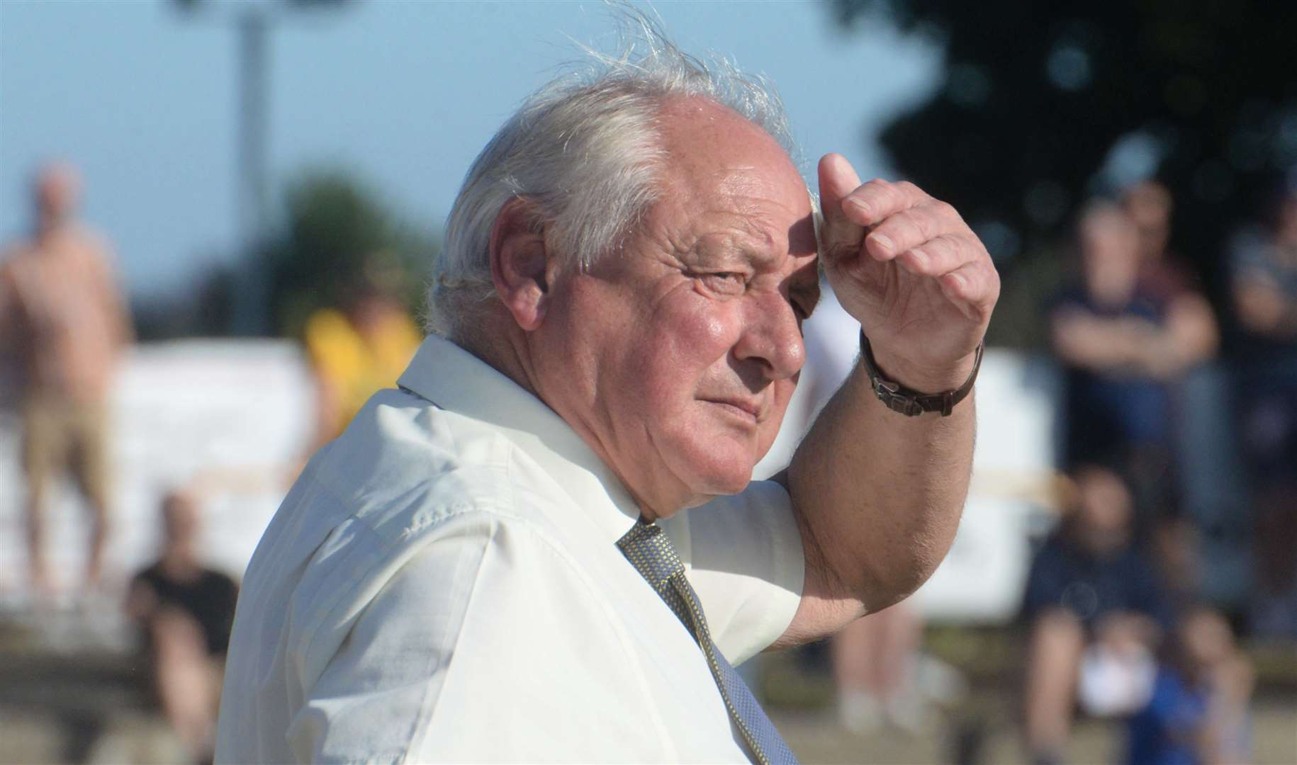 Folkestone Invicta manager Neil Cugley. Picture: Chris Davey (42291219)