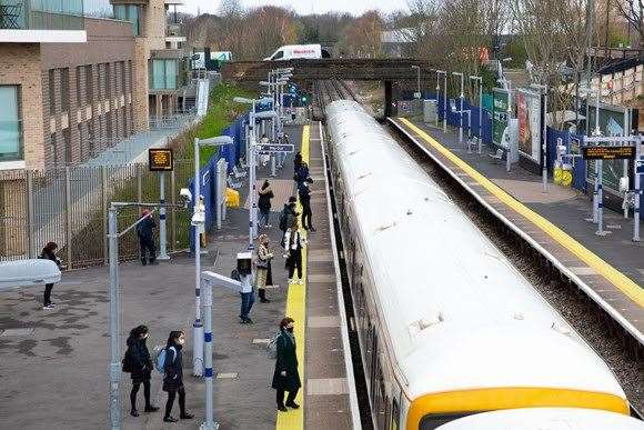 All change - Southeastern will hand over the reins of most of Kent's rail services this weekend. Picture: Southeastern