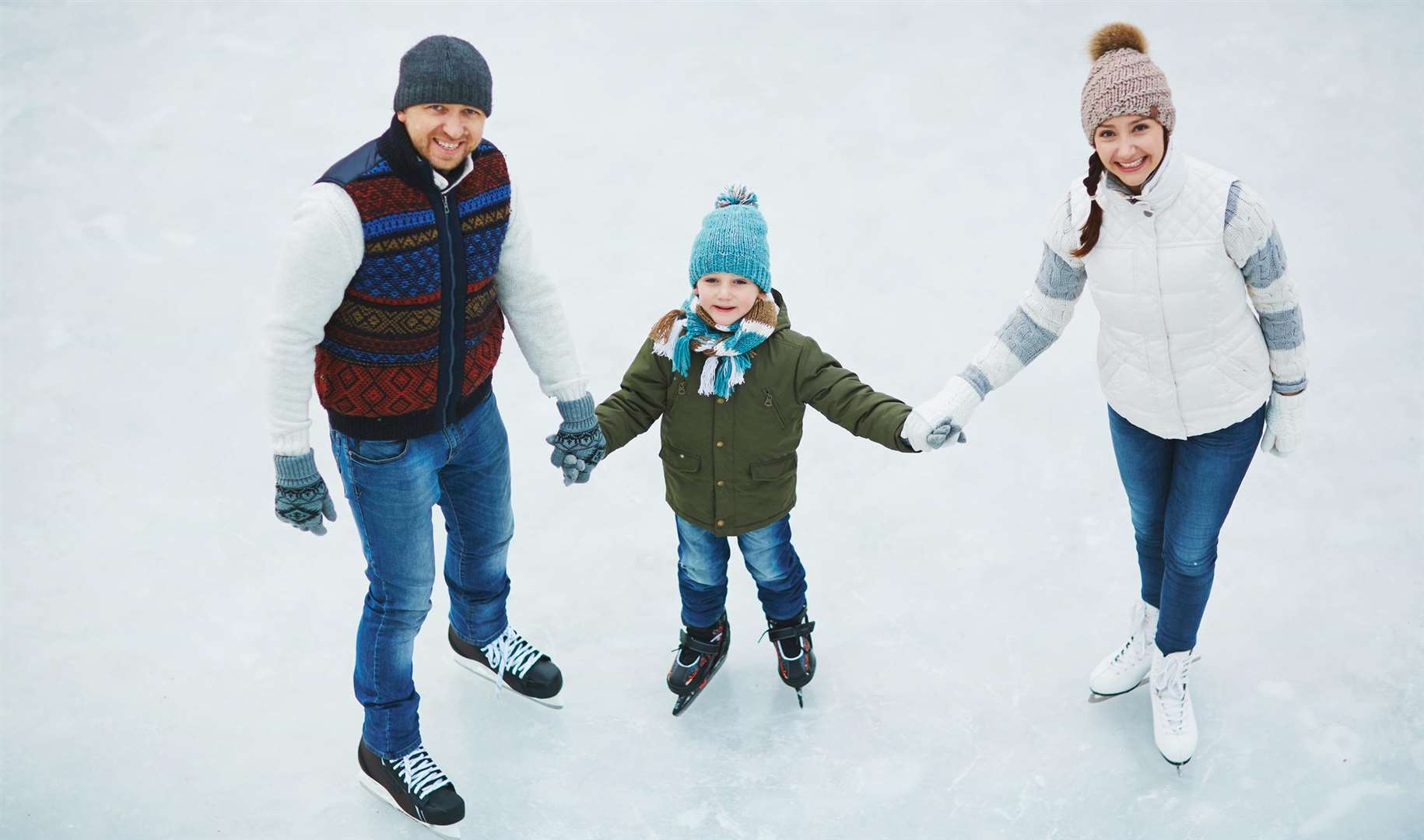 Feel festive and head out on the ice this winter
