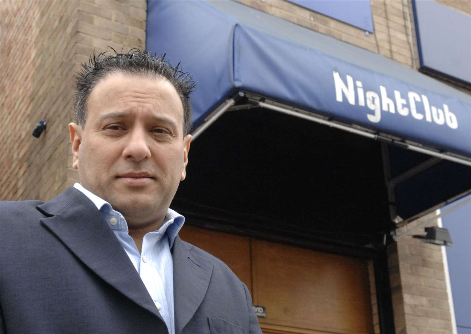 Karl Ahmad, owner of the Vivid in Herne Bay, was knifed outside his nightclub