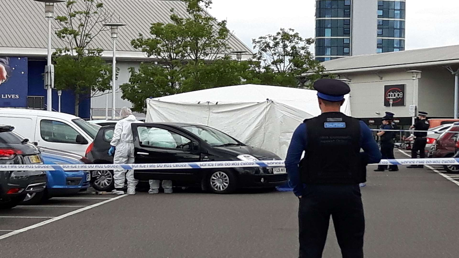Molly McLaren died in the car park of the Dockside Shopping Outlet in Chatham