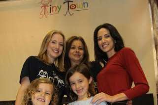 Felipe's family who have been supporting him during The Apprentice. Pictured at Tiny Town in Larkfield