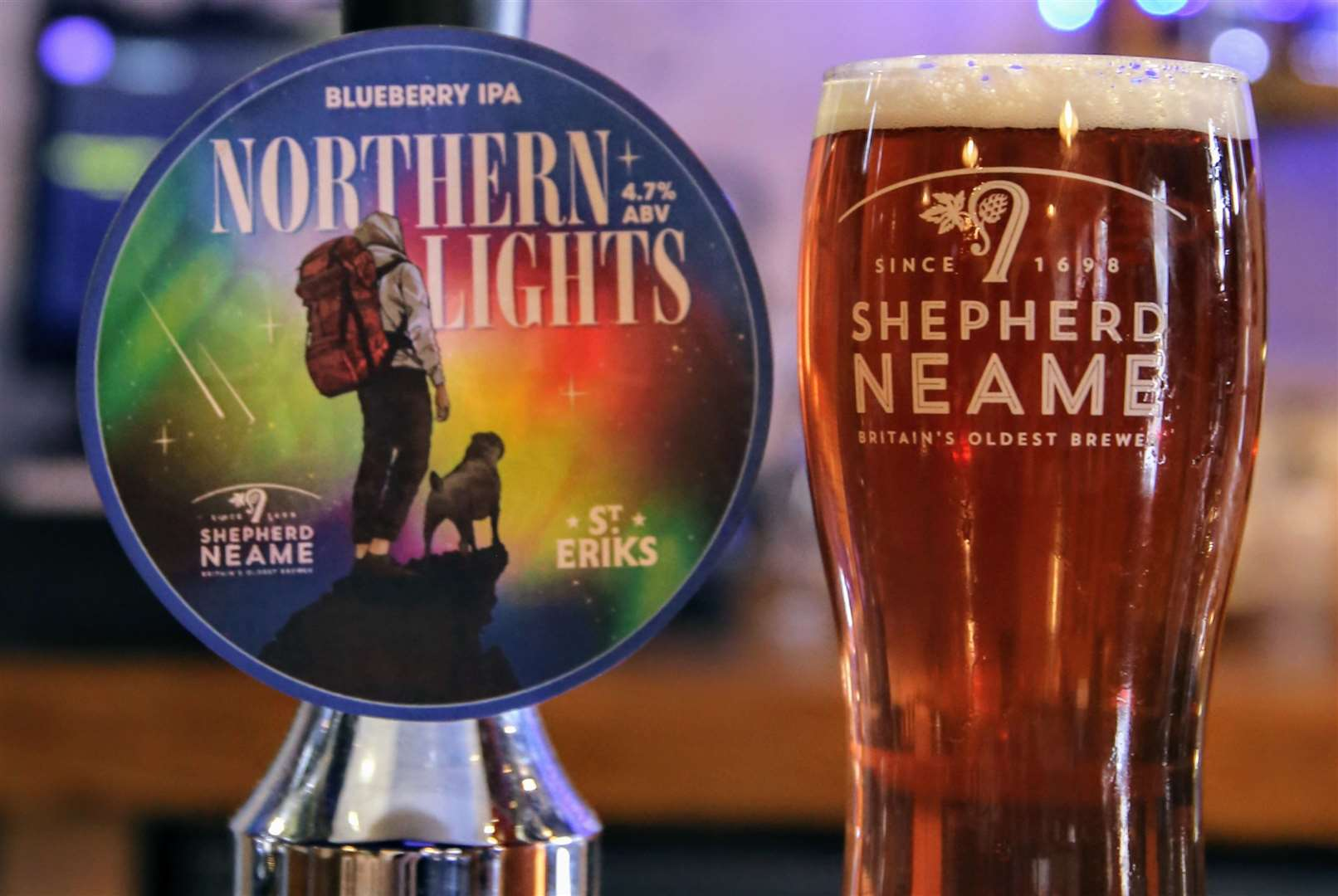 Northern Lights is a blueberry IPA (19018314)